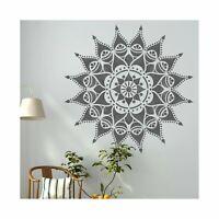 NASHIK Mandala Indian Circular Stencil - Furniture Wall Floor Stencil for Paint