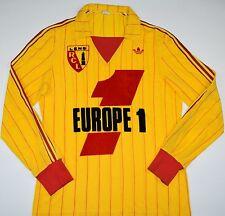 1977-1978 RACING CLUB LENS ADIDAS VENTEX HOME FOOTBALL SHIRT (SIZE M)