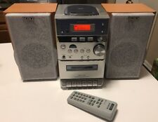 Sony CMT-EP313 Micro Hi-Fi Component Stereo System CD Cassette Tape Radio Remote