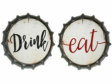 Bottle Metal Decorative Plaques & Signs