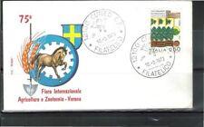 Nicht bestimmte Briefmarken aus Italien & Kolonien mit Briefstück