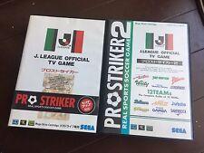 SEGA MEGA DRIVE genesis pro striker 1 & 2 JAPAN