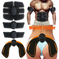 Electric Muscle Toner Machine Wireless Toning Belt Abs Simulation Fat Burner Set
