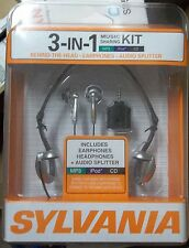 Sylvania Syl-Vp312 3 in 1 Earbuds