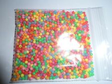 PACK OF 1000 ASSORTED 3mm plastic beads fly tying kit lot bulk wholesale