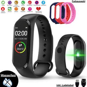 Bluetooth Smartwatch Fitness Armband Tracker Sport Uhr Schrittzähler Wasserdicht