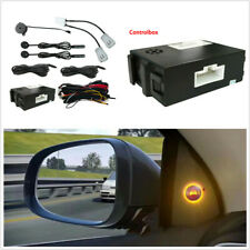 Universal Car Blind Spot Monitoring Detection System Ultrasonic Sensor Kit White