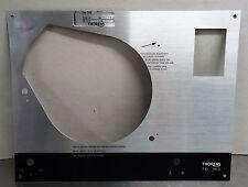 Ersatzeil - Thorens TD 160  orign. vintage Metall Blende Abdeckung Deckplatte