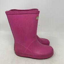 HUNTER Original Kids Rain Boots Electric Size US 2//UK 1