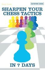 Sharpen Your Chess Tactics in 7 Days. By Lane. NEW BOOK