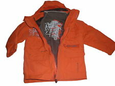 C & A tolle Jacke Gr. 98 2-in 1 orange !!