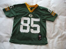 Green Bay Packers Jersey 85 Sz Youth S Small 8 Greg Jennings Short Sleeve Boys