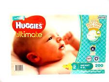 Huggies 200 Ultimate Nappy Pants for 4-8kg Infants