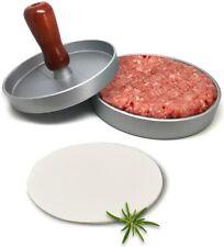 Non-stick Aluminum Burger Press Grill Patty Maker for Hamburgers BBQ Ca Ship