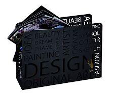 Design Zeitungsständer Magazinständer Zeitungshalter Mod. 44595 Schwarz