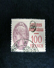 FRANCE REFUGIES  100 FRANC NANSEN STAMP 1940 TYPE FR. 2 GAINES PAGE 1298 USED