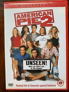 American Pie 2 DVD  2001 Sex Comedy Sequel Unseen Uncut Uncesored