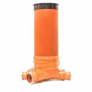 KG Schacht DN400/DN110 - Komplett SET - KG Rohr - Kanal Entwässerung - Deckel