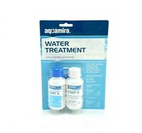 New Aquamira Water Purification Chlorine Dioxide Part A & B 2 oz for 60 Gallons
