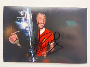 RARE Alan Kennedy Liverpool 1981 European Cup Signed Photo + COA AUTOGRAPH