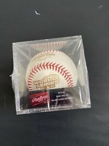 2004 BOSTON RED SOX WORLD SERIES CHAMPS RAWLINGS OFFICIAL REPLICA BASEBALL NEW