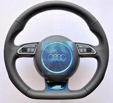 New 2016 S Line Audi A6 S6 RS6 4G A7 S7 RS7 A8 S8 Flat bottom steering wheel
