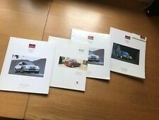 4 ROVER  Car Sales Brochures