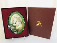 Taylor Avedon Collectible Enamel Crystal Butterfly Picture Photo Frame New