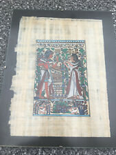 Ägyptisches Papyros-Bild Replika Randloser Bilderrahmen 24 x 30 cm