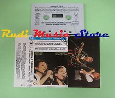 MC SIMON & GARFUNKEL The concert in central park 1982 holland no cd lp dvd vhs**