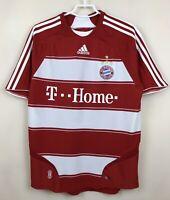 FC BAYERN MUNICH GERMANY 20072009 HOME FOOTBALL JERSEY TRIKOT SOCCER SHIRT KIT