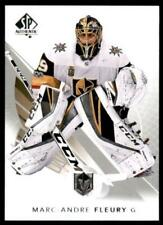 2017-18 17-18 UD Upper Deck SP Authentic Base #31 Marc-Andre Fleury Vegas