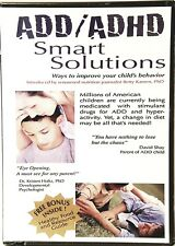 ADD/ADHD Smart Solutions: Ways to Improve Your Child's Behavior DVD Betty Kamen.