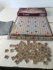 Scrabble Crossword Board Game Milton Bradley 100% Complete
