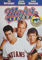 Major League (DVD, 1989, Wild Thing Edition) Berenger Sheen Bernsen