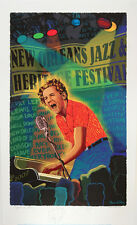 2007 N.O. Remarque Jazz Fest Poster A/P Jerry Lee Lewis by Francis X Pavy