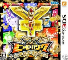 Used SEGA HERO BANK NINTENDO 3DS JAPANESE  IMPORT
