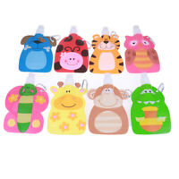 Foldable Cartoon Animal Water Drinking Cup Bag Drink Bottle for Kids Children BH