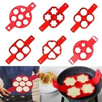 Pancake Maker Mould Non Stick Silicone Omelette Egg Ring Maker Kitchen Tool Hot