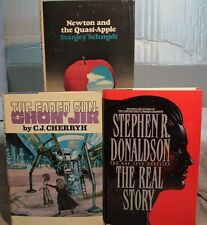 lot 3 old sci fi THE FADED SUN  SHON JIR NEWTON AND THE QUASI APPLE  REAL STORY