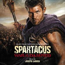 SPARTACUS : LA GUERRE DES DAMNES (MUSIQUE DE FILM) - JOSEPH LODUCA (CD)