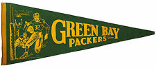 RARE!  1950's Green Bay Packers Full Size Felt Pennant, 27.5""