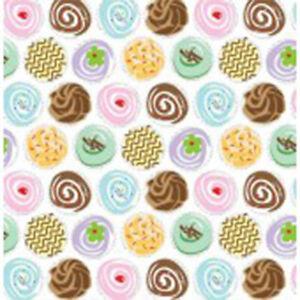 Cupcakes Print Tissue Paper 500x750mm Multi Listing