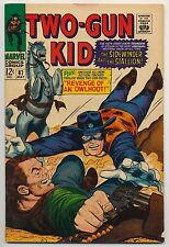 Two-Gun Kid #87 (1967) Fine Plus (6.5) ~ Western Comics Marvel