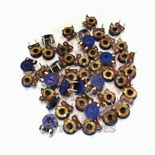 Vintage Lot Of 42 Cts 1377337 Slim Bias Trim Pots Potentiometers 250k Ohms