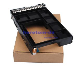 "651314-001+661914-001 2.5"" SSD TO 3.5"" SATA Adapter Tray Caddy HP ML310E G8/G9"