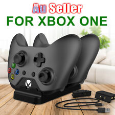 2 USB Rechargeable Dock Battery Charger Microsoft for XBOX ONE Dual Controller +