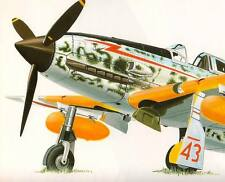 KAWASAKI Ki-61 HIEN TONY Army Type 3 Fighter Vintage Model Art 263 Pictorial Bk
