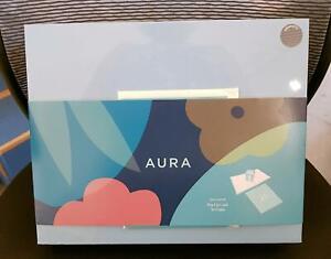 "Aura Mason 9"" HD Display Wi-Fi Digital Photo Frame Graphite Gray SEALED"