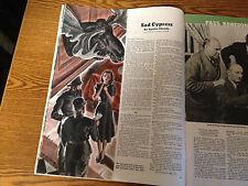 COLLIER'S. JAN 13 1940-SUPERB ART/ADS AGATHA CHRISTIE/POIROT-HAYCOX-WESTERN VG+